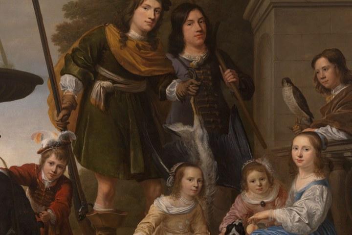 De Kinderen van Tromp als pronkstuk voor de Museumweek