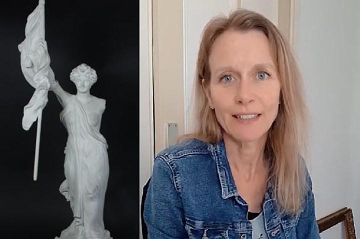 Museumdeur op een kier, 25 maart: Karen de Moor