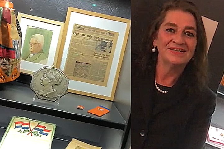 Museumdeur op een kier, 5 mei: Marijke Holtrop