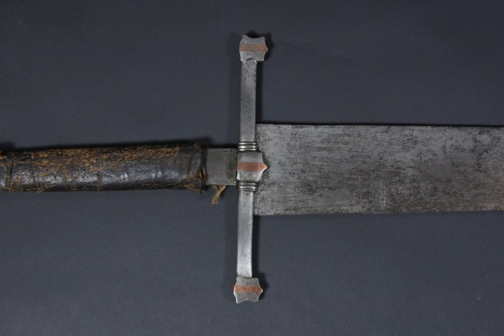 The executioner's sword in Brielle Historical Museum