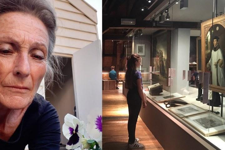 Museumdeur op een kier: 24 mei, Fieke Lambert